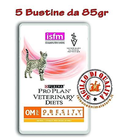 Purina Veterinary Diet gato Om obesity Management al pollo 5 ...