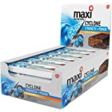 MaxiNutrition Cyclone Strength and Power Bars - Chocolate Orange, 60 g (Pack of 12)