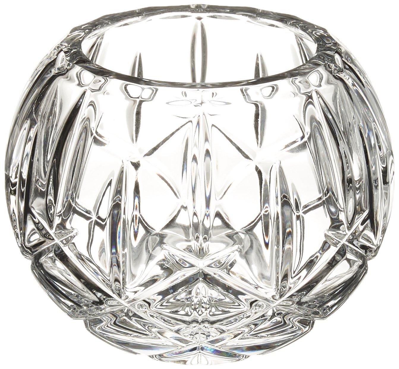Lenox Gorham Lady Anne Crystal Rose Bowl, 7''