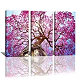 Amazon Price History for:yixuanwall art-canvas Prints,kx00888 Purple tree Wall Art oil Paintings Printed Pictures Stretched for Home Decoration