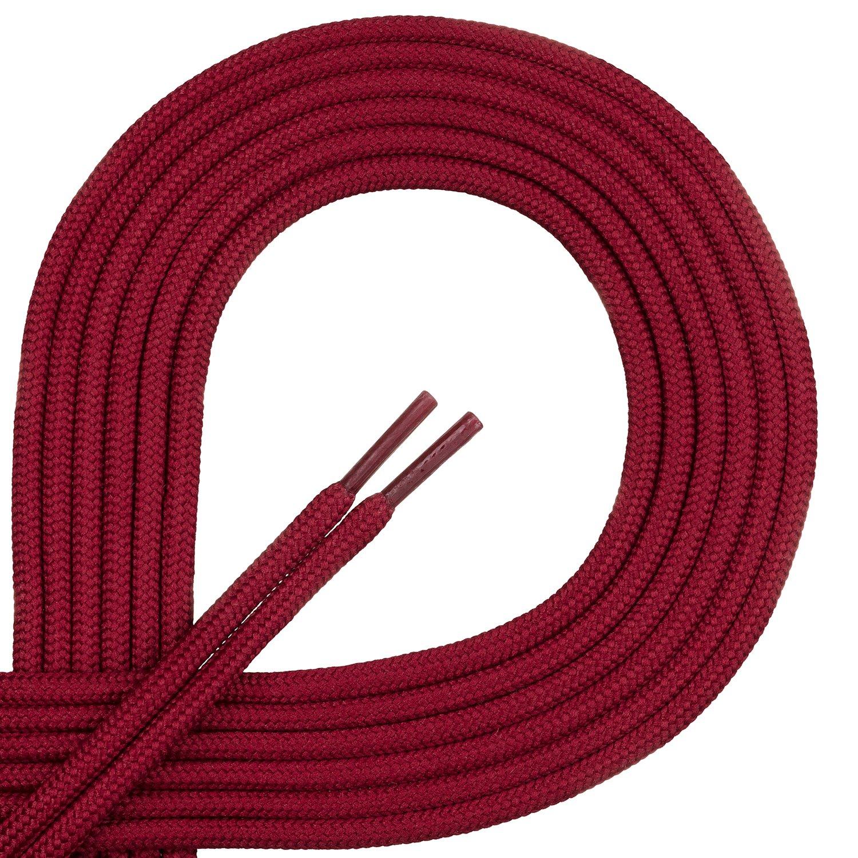 Xunits Schnürsenkel 75 cm königs-balu, 1 Paar rund & gewachst Ø 2,5 mm Schuhbänder für Anzug-Business-Schuhe oder Lederschuhe - Längen 60 - 114 - in 29 Farben