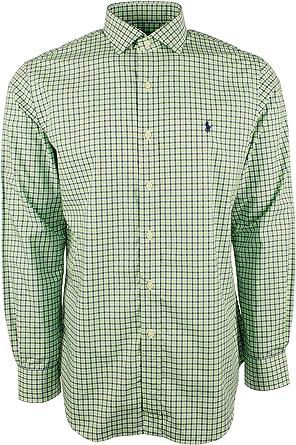 Ralph Lauren Polo Camisa a Cuadros con Botones para Hombre