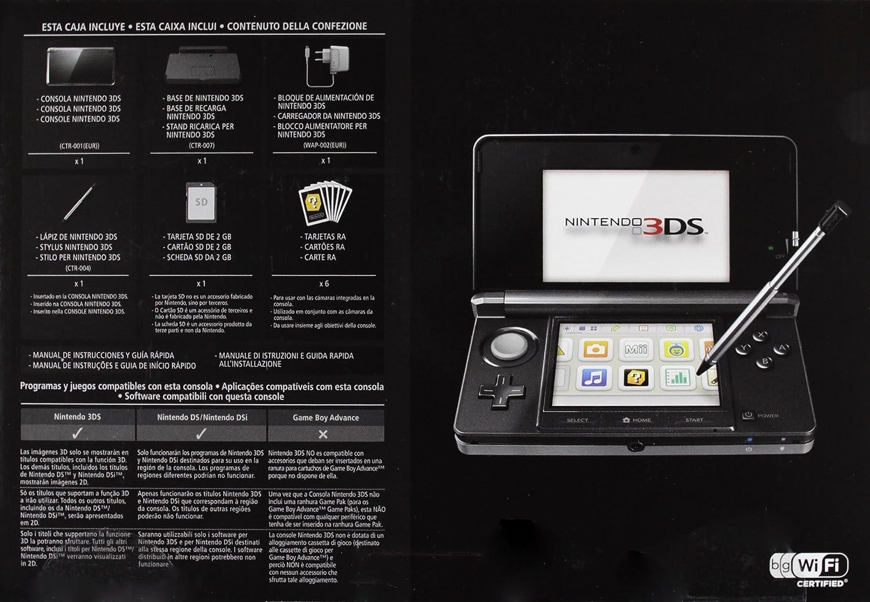 Nintendo 3DS - Consola, Color Negro: Amazon.es: Videojuegos