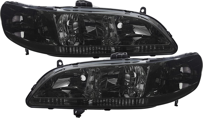 PAIR 1998-2002 Honda Accord 6th generation New Original Headlight Headlamp Lens Cover