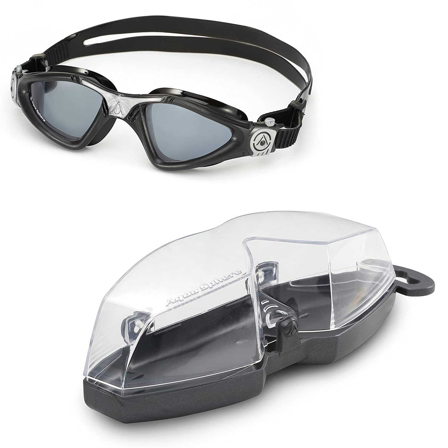 Aqua Sphere Kayenne Swim Goggles Adult UV Protection Anti Fog Swimming Goggles Made in Italy