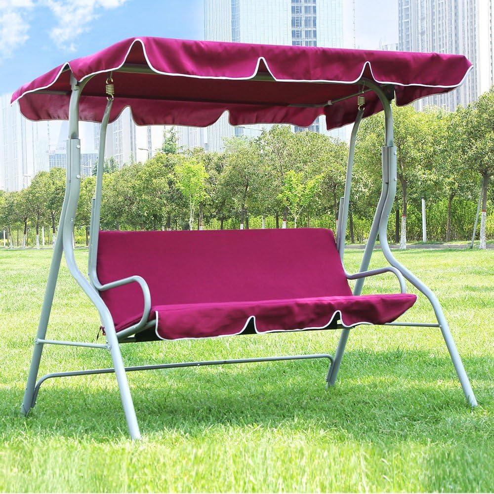 Songmics Balancines de jardín Silla para acampada columpio silla ...