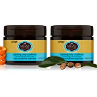 HASK ARGAN OIL Repairing Deep Conditioner Treatments for all hair types, color safe, gluten free, sulfate free, paraben…