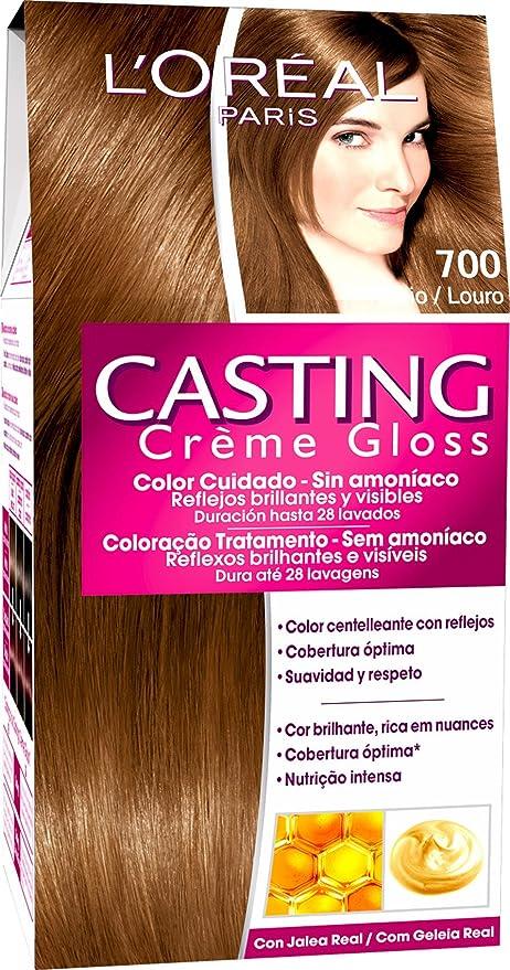 LOreal Paris Casting Crème Gloss Coloración sin Amoniaco 700 ...