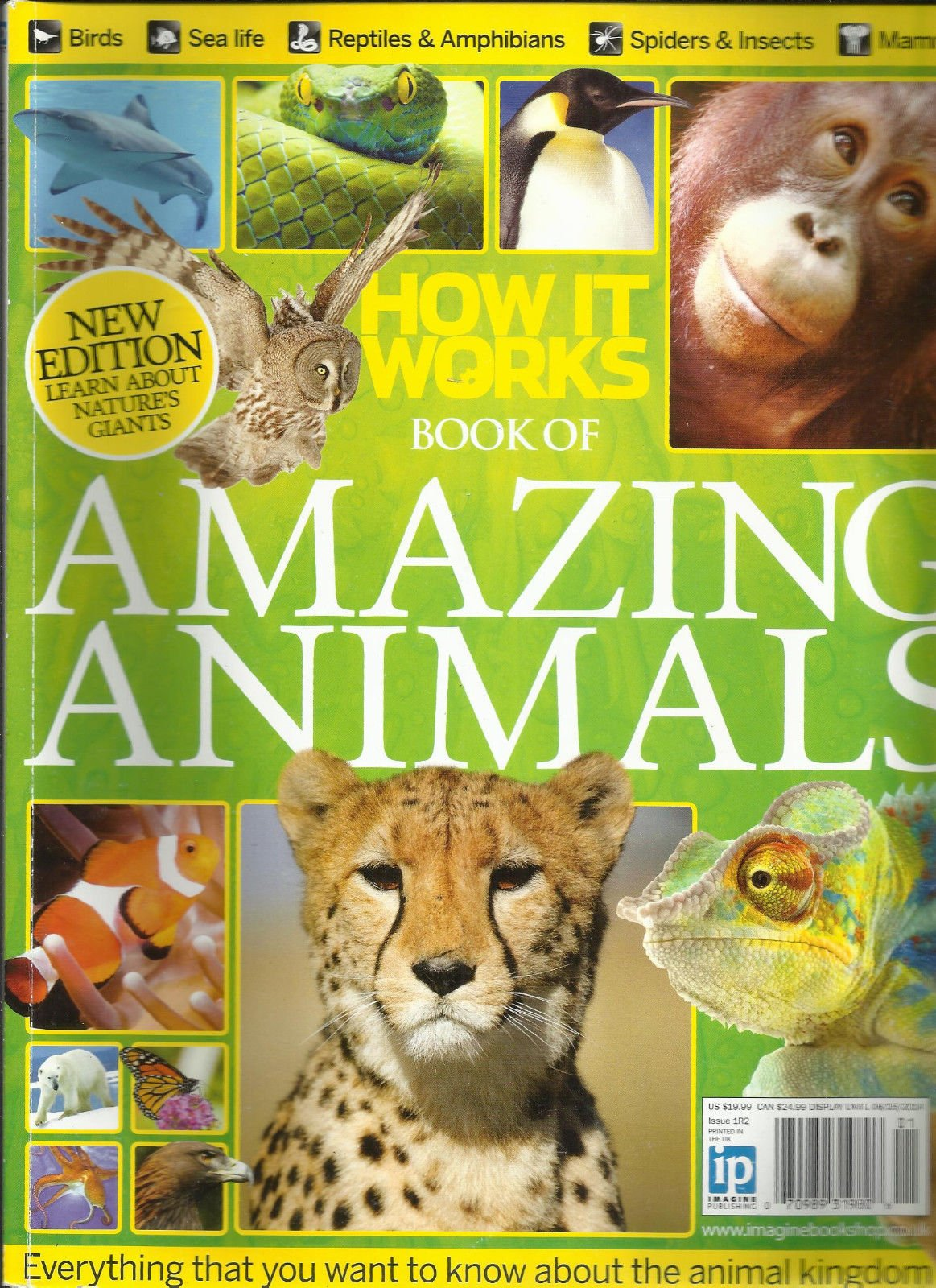 HOW IT WORKS BOOK OF AMAZING ANIMALS ISSUE, 2014 ISSUE, 1R2 NEW EDITION
