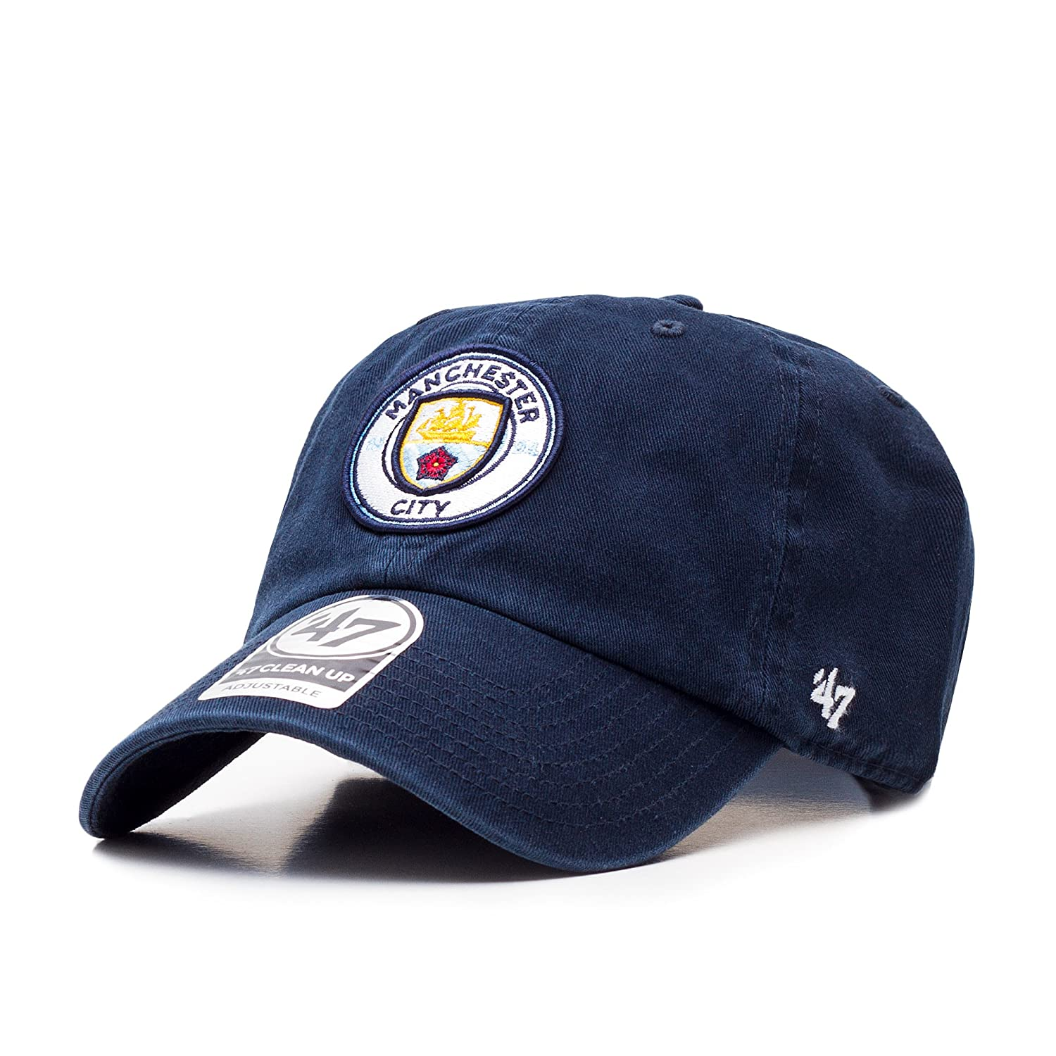 47 Brand EPL Manchester City Clean Up Cap - Navy at Amazon Men s Clothing  store  633e09fc55d