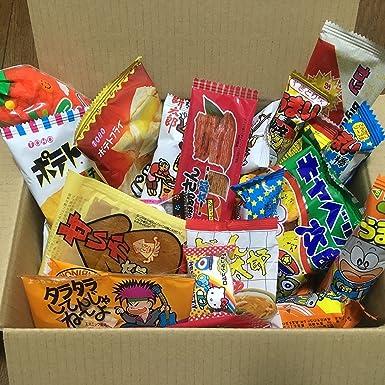 Dagashi Box Snacks japoneses 35pcs Umaibo Candy Gumi patata Chip ...
