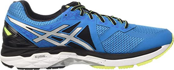 Shoes ASICS GT 2000 4 T606N Blue JewelBlackSafety Yellow 4390