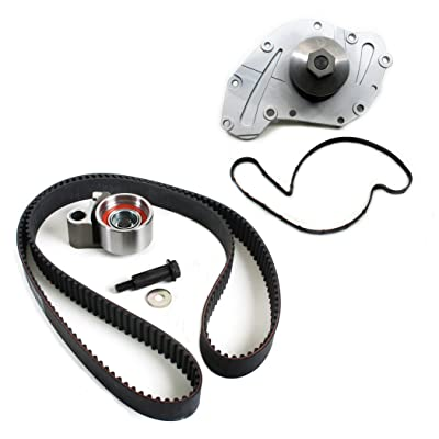 New TCK295AWP-1 (201 teeth) Timing Belt Kit & Water Pump Set for 2005-10 Chrysler Dodge 3.5L 4.0L V6 300 Pacifica Magnum Charger Journey Nitro Town & Country: Automotive