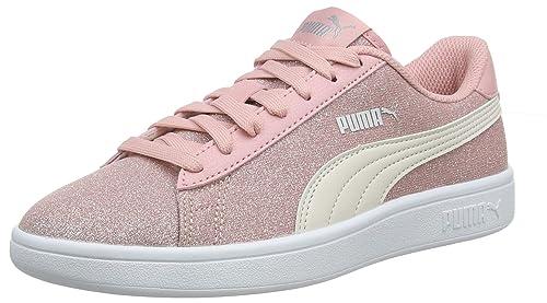 PUMA Mädchen Smash V2 Glitz Glam Jr Sneaker:
