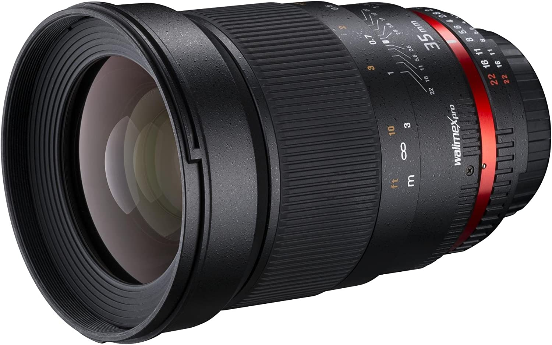 Walimex Pro 35mm 1 1 4 Dslr Objektiv Für Canon Ef Kamera