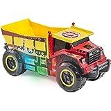 Kid Galaxy Mega Motorized iRock & iRoll Dump Truck. Toddler Light and Sound Effects Construction Toy