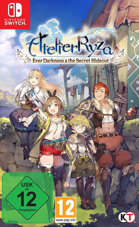 Atelier Ryza: Ever Darkness & the Secret Hideout [Nintendo Switch] [Importacion Alemania]: Amazon.es: Videojuegos