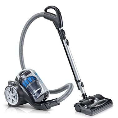 Prolux 2019 iFORCE Light Weight HEPA Bagless Canister Vacuum with Power Nozzle