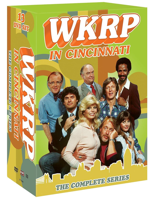 WKRP in Cincinnati: The Complete Series Howard Hesseman Gordon Jump Gary Sandy Rod Daniel