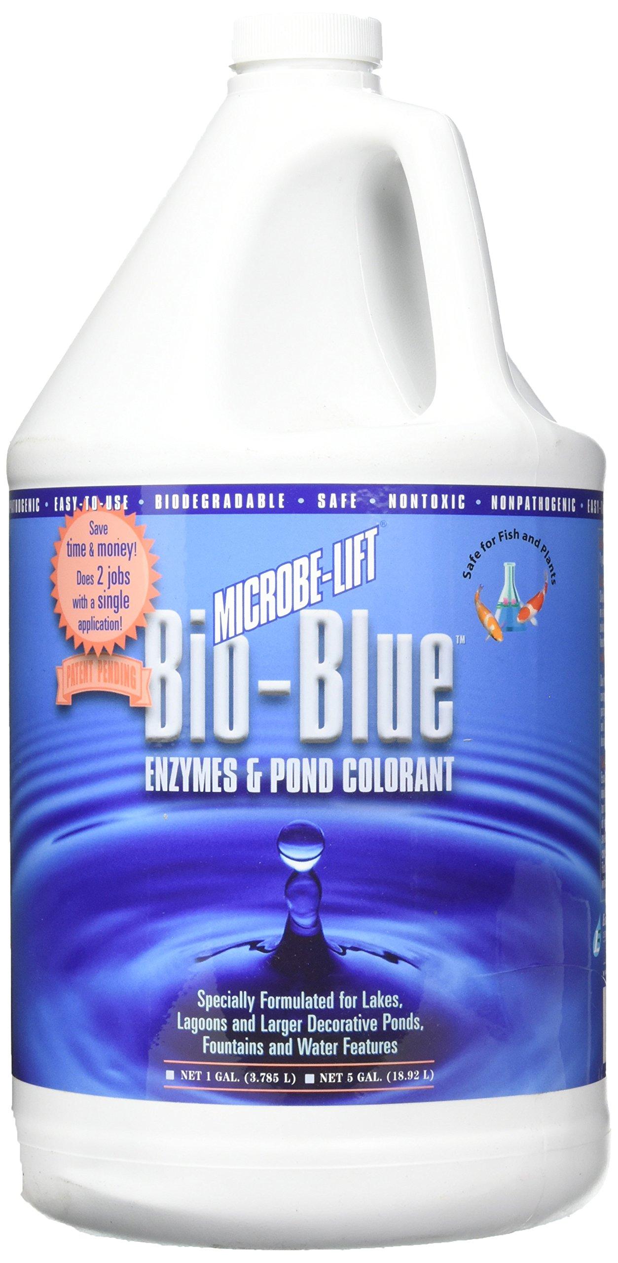 Ecological Labs MLBBG4 1-Gallon Microbe-Lift Bio-Blue