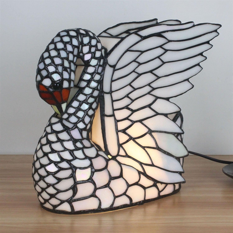Gweat Europ/äische kreative Schwan Tischlampe Kinder Lampe Nacht Licht