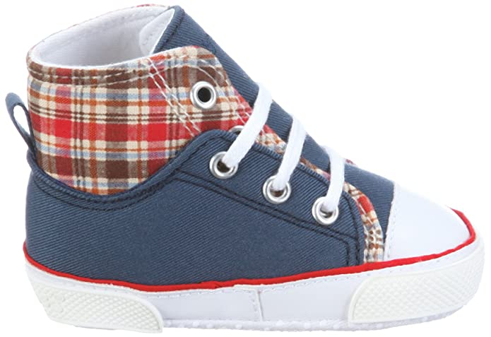Playshoes Baby Canvas Schuhe Turnschuhe Baumwolle Noppen an der Sohle 16 bis 20