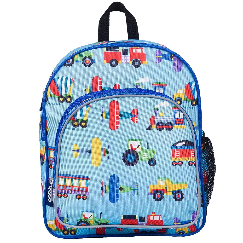 Wildkin-Trains-Planes-amp-Trucks-Pack-039-n-Snack-Backpack miniatura 2
