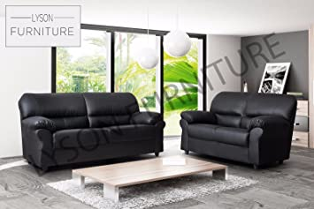 Candy - Hermoso sofá para sala de estar, piel sintética ...
