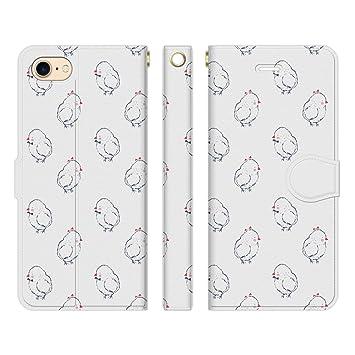 d519802c81 Ruuu iPhone8 iPhone7 手帳型 スマホ ケース カバー おしゃれ かわいい ユニーク 個性的 動物 どうぶつ 鳥