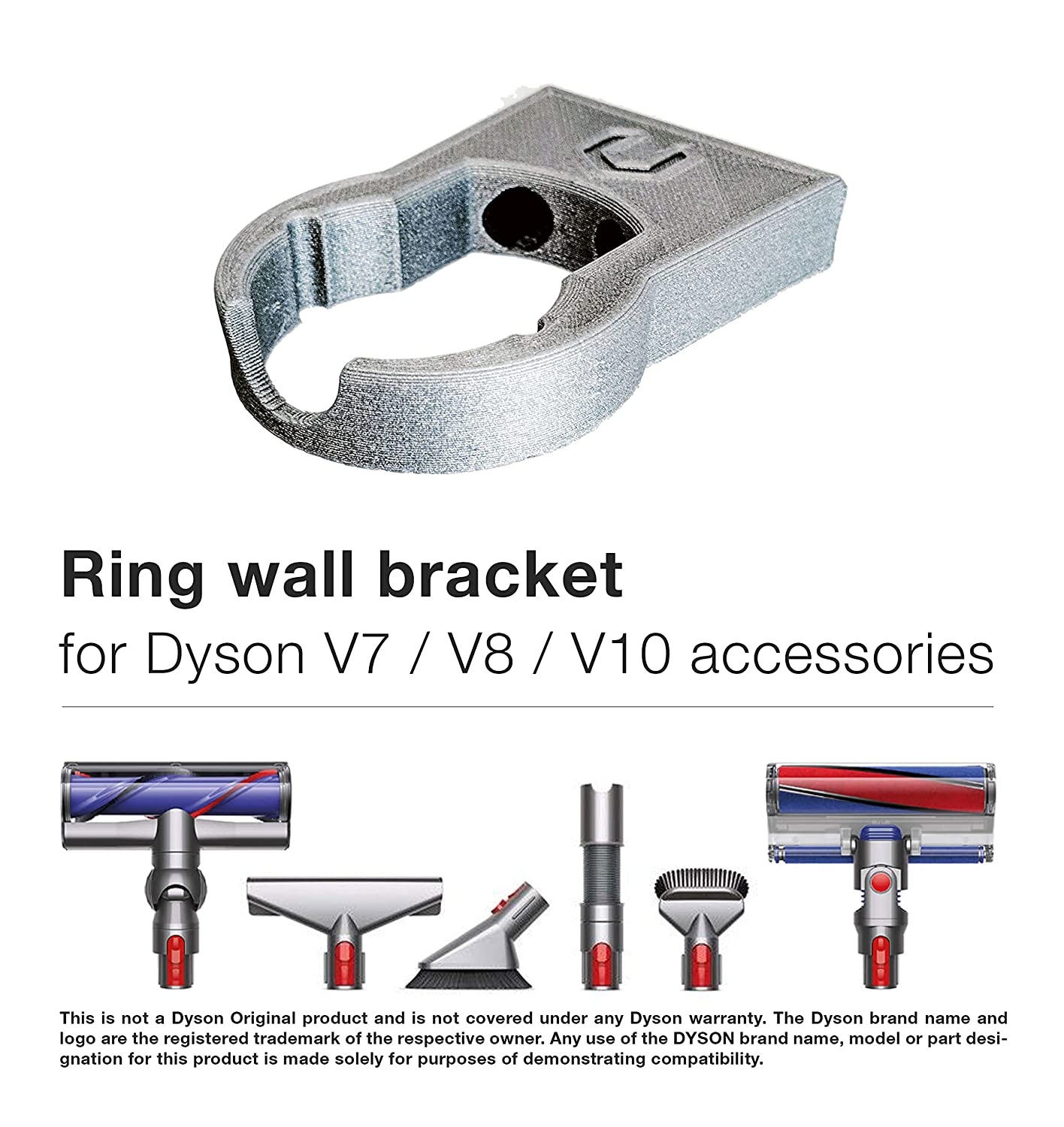 Amazon.com: Anillo soporte de pared para Dyson V7, V8, V10 ...