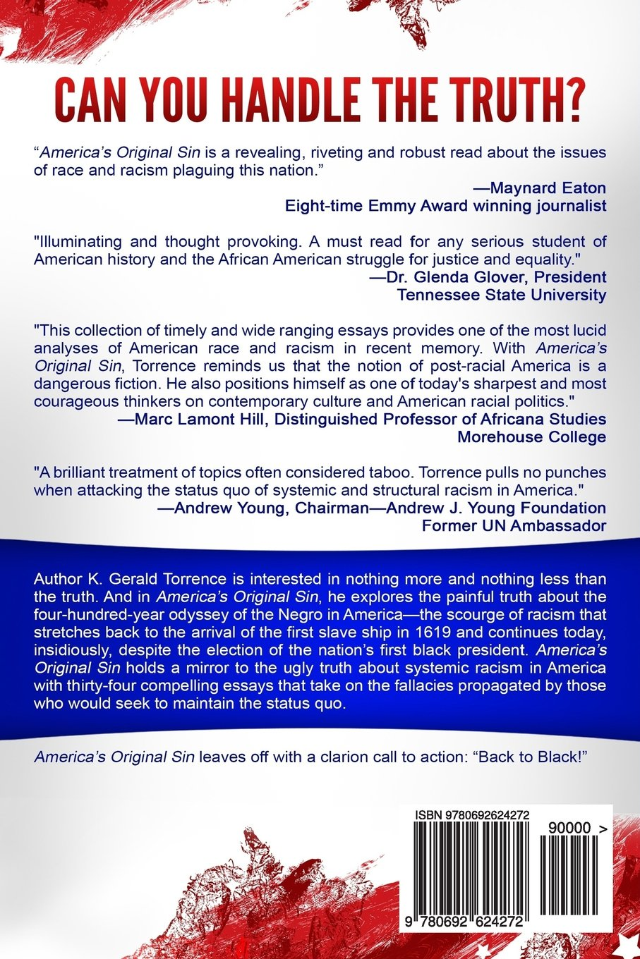 Americas Original Sin A Collection Of Essays On Racism And The  Americas Original Sin A Collection Of Essays On Racism And The Continuing  Scourge Of White Supremacy K Gerald Torrence  Amazoncom  Books What Is Thesis In An Essay also Apa Sample Essay Paper  Narrative Essay Example High School