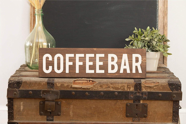 Amazon.com: Georgia Barnard Coffee Bar Sign Coffee Bar Decor ...