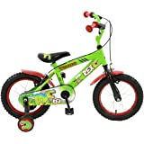Townsend Boy Rex Bike, Mid Green, 14-Inch