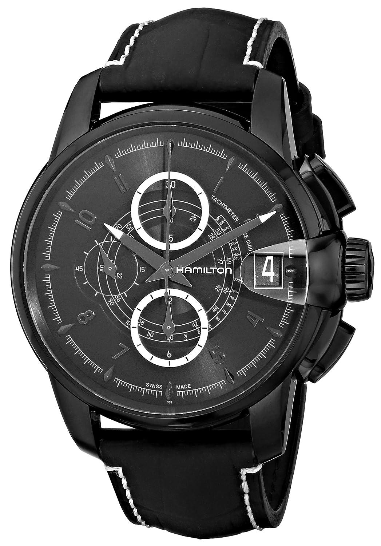[ハミルトン]HAMILTON 腕時計 Railroad Auto Chrono(レイルロード オート クロノ) H40686335 メンズ 【正規輸入品】 B004CJ7XCI