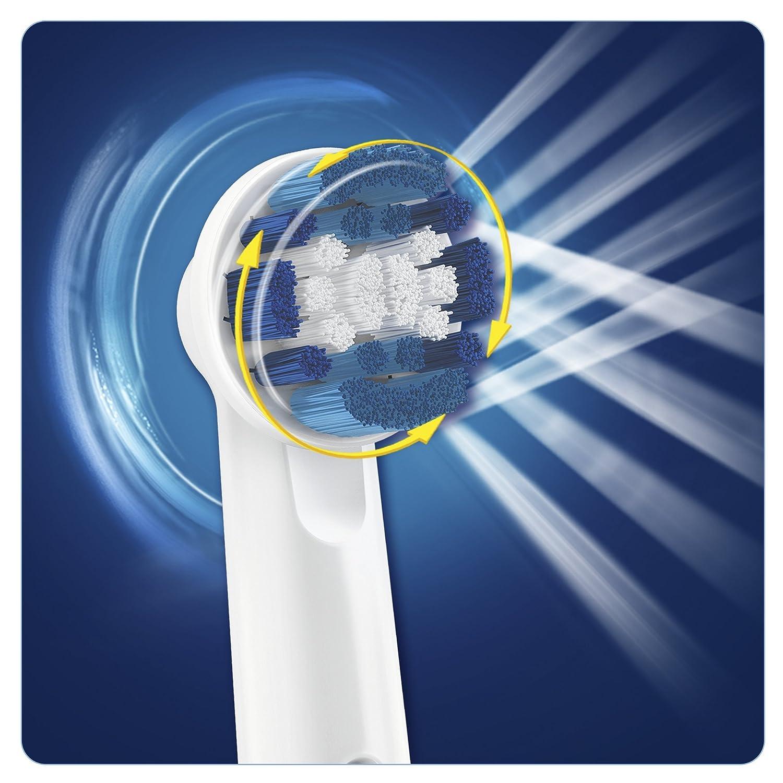 Oral-B - Cepillo de dientes recargable Professional Care 1000 - con indicador de presión luminoso