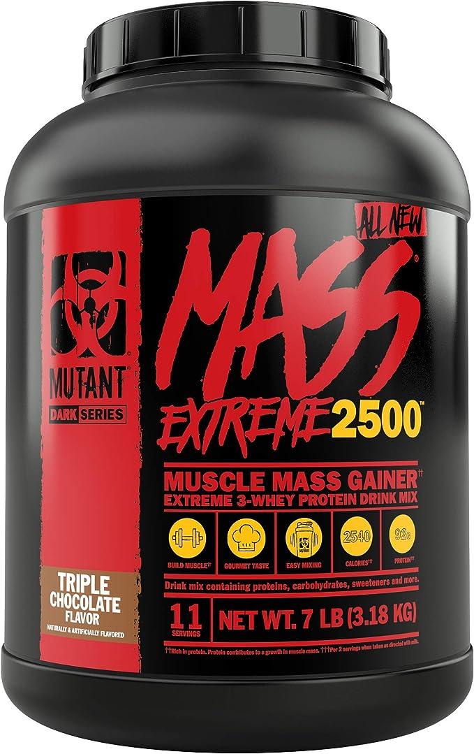 Mutant Mass Xxxtreme 2500 Triple Chocolate - 3178 gr
