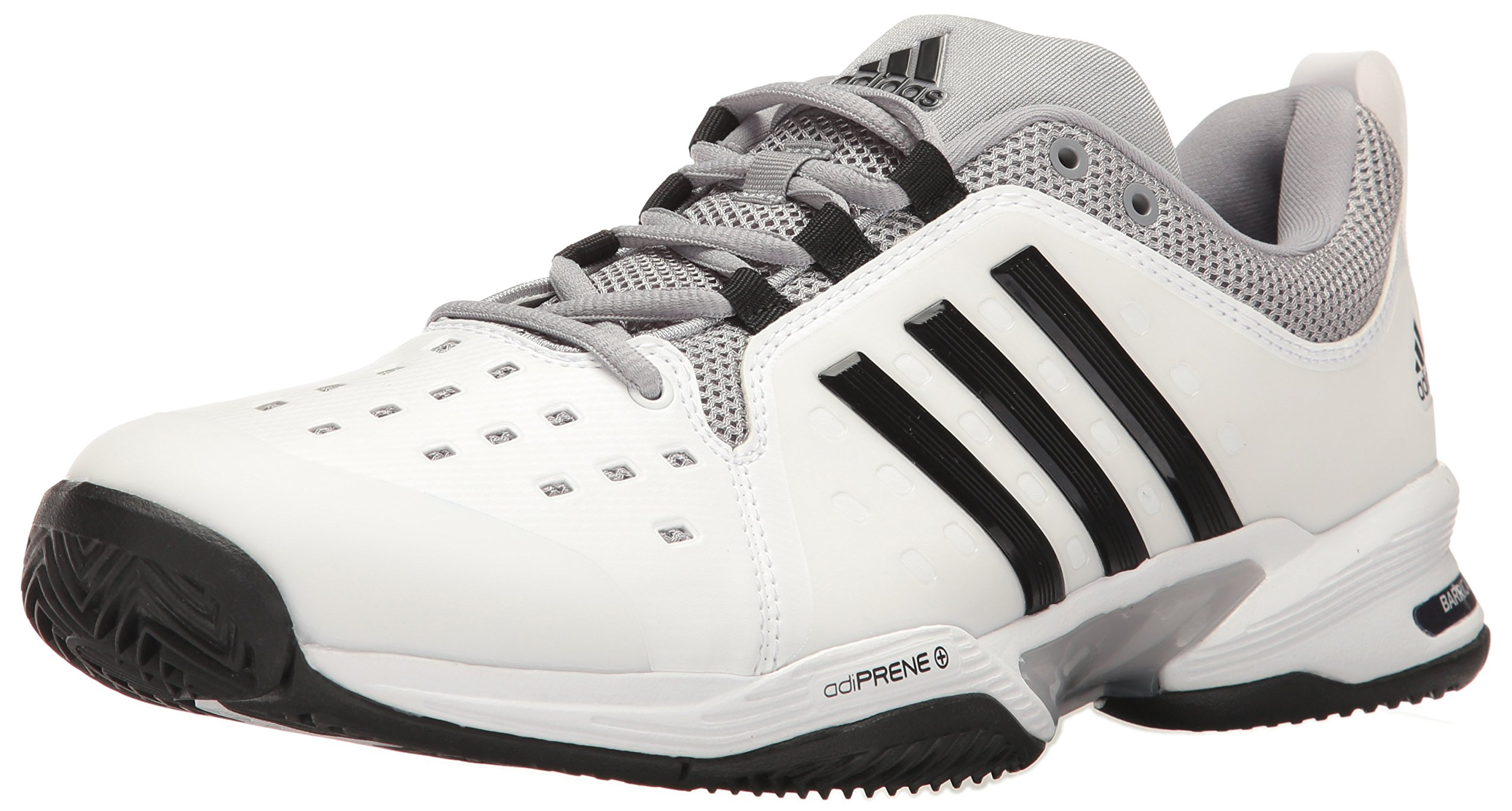 innovative design 01ab1 e46c5 Galleon - Adidas Barricade Classic Wide 4E Tennis Shoe,WhiteCore BlackMid  Grey,9 US
