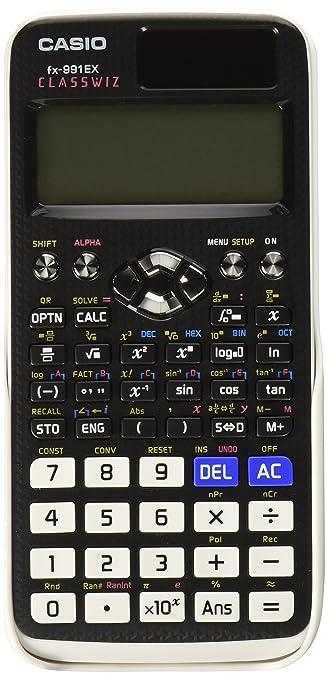 190 opinioni per CASIO Classwiz FX-991EX calcolatrice Scientifica- 552 funzioni, display