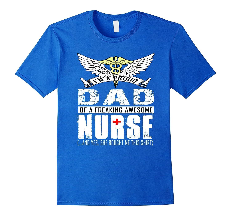 653e32dc ... Mens My Daughter Is A Nurse TShirt Proud Dad Of A Nurse Shirt ...