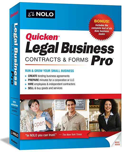 Amazon.com: Quicken Legal Business Pro: Software