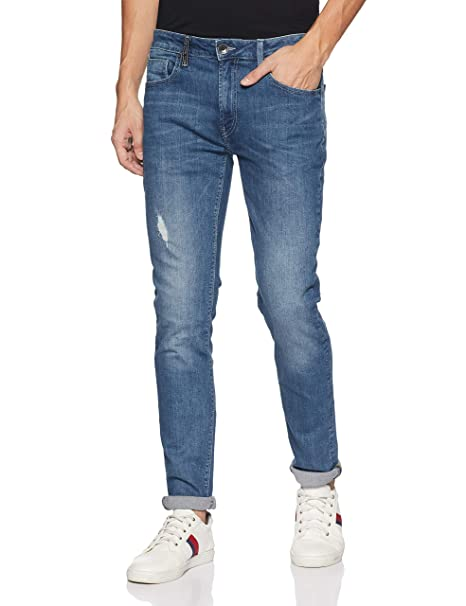 United Colors of Benetton Men's Skinny Fit Jeans Men's Jeans at amazon