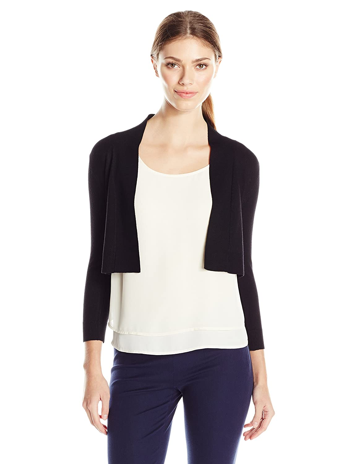 Calvin Klein Women's Knit Shrug Sweater at Amazon Women's Clothing ...