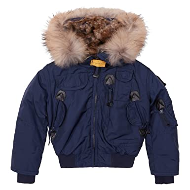 Parajumpers - Kids Gobi Girls Jacket 4 Yrs Marine