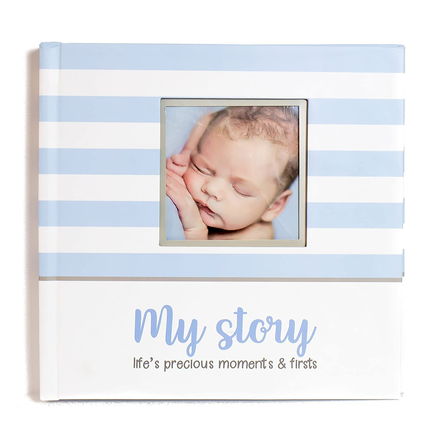 ToddleBee Baby Photo Album Soft Baby Book First Year Baby Photo Book Baby Album Holds 4x6 Pictures for Memory Album Baby Shower My First Book of Photos with Woodland Animals