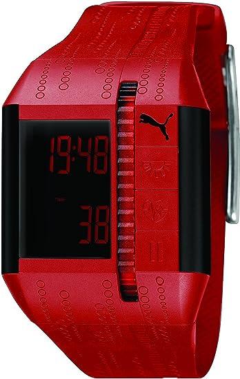 PUMA Time Cardiac Reloj digital para hombres Pulsómetro: Amazon.es: Relojes