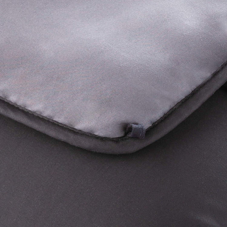 Hypoallergenic Machine Washable White Linenspa All-Season Down Alternative Quilted Comforter Plush Microfiber Fill Duvet Insert or Stand-Alone Comforter Full