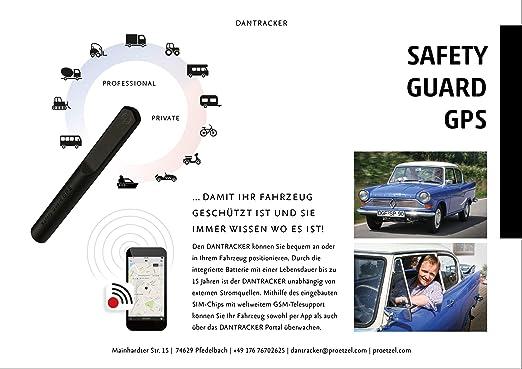 DanTracker IA - Localizador GPS (Incluye Contrato eSIM, garantía de 60 Meses): Amazon.es: Electrónica
