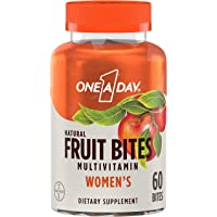 Deals on 60-Count One A Day Womens Natural Fruit Bites Multivitamin