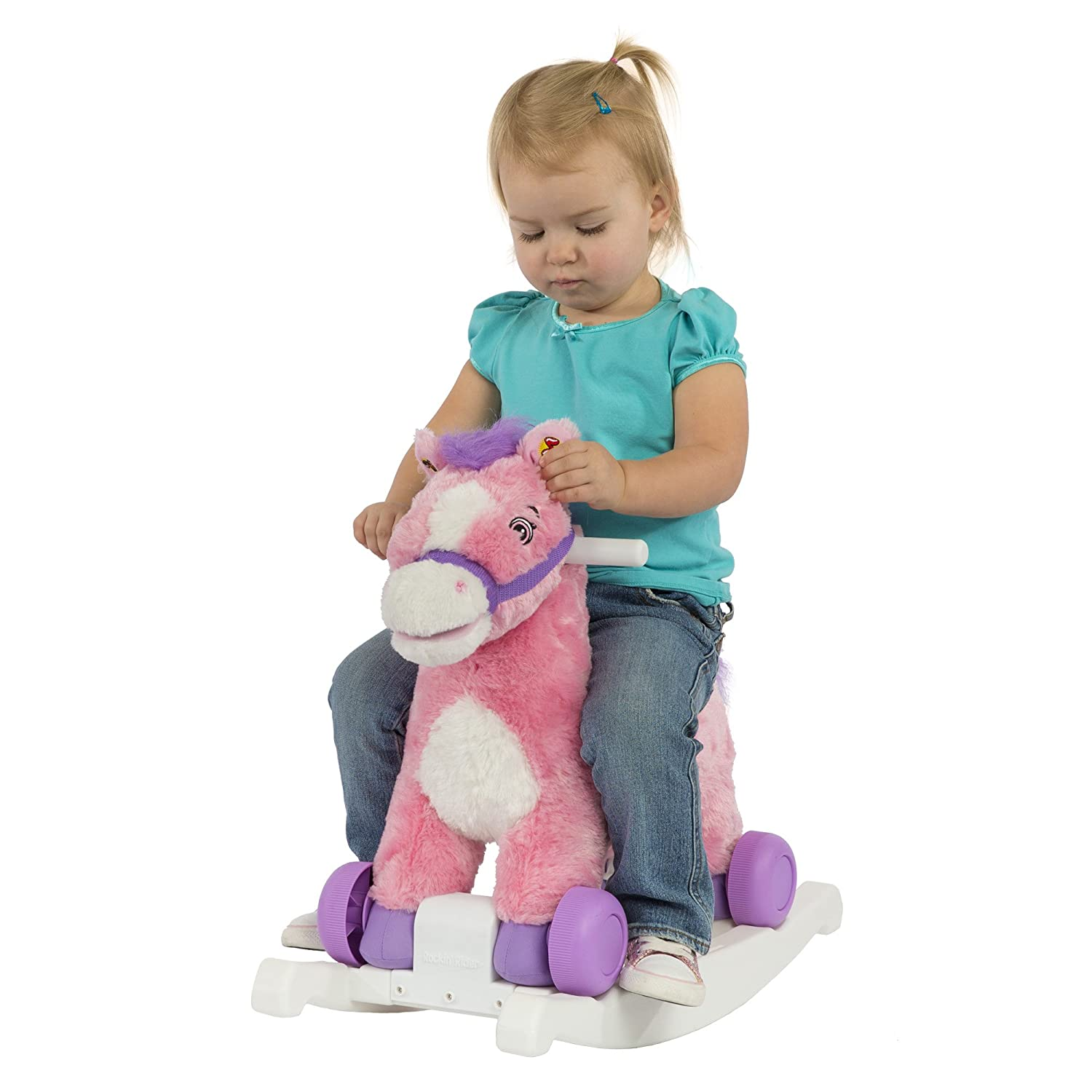 Amazon Rockin Rider Candy 2 in 1 Rocking Pony Toys & Games