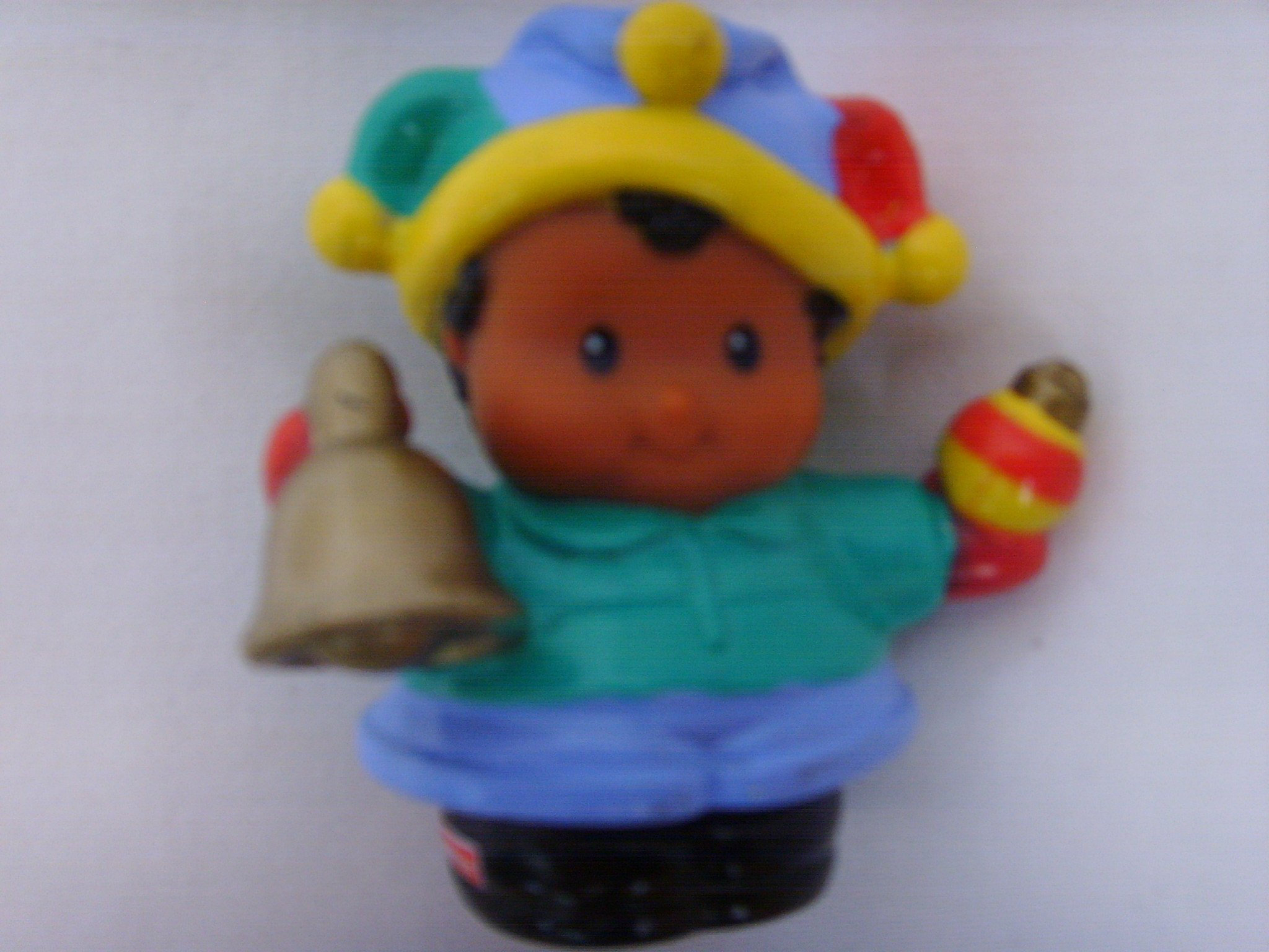 Little People Fisher Price Michael African American Jester Replacement Part Figure Toy